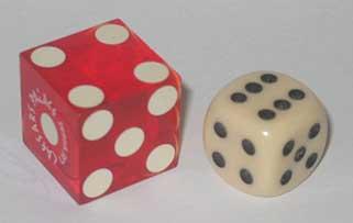 casino würfel tisch